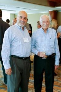 Larry Nocera de Kobrand con Don Diego Suarez