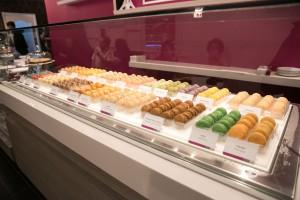 Le Macaron de Guaynabo y Condado cuentan con más de 18 sabores a ofrecer inlcuyendo variedad de pastries y gelatos