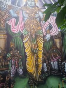 Mombai Pintura en terraza