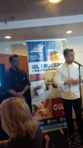 Chefs Laurenco Picardo y Christian Quinones