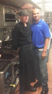 Chef Oscar Ramiro y Alex