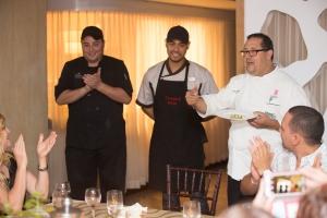 Chef Elvin Rosado y su equipo