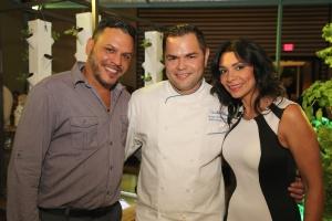 Chef Isaac Pacheco e invitados