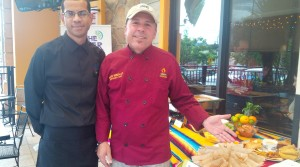 Corporate Chef Pedro Gonzalez y Sous Chef