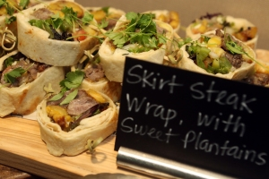 Wraps de Skirt Steak
