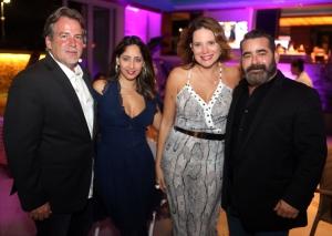 Rey Hernandez, Sandra Pulliza, Carmine Annex y Jose de La Mora