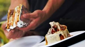 Mofongo Frito con Carne Frita