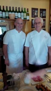 Chefs Frank Arnould & Daniel Vasse