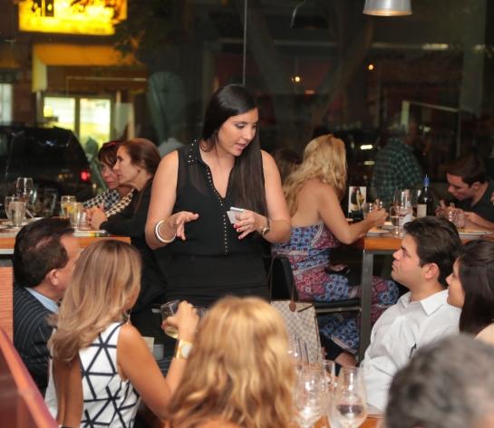 Norton en Melanzana Macarena Esteller compartió con invitados