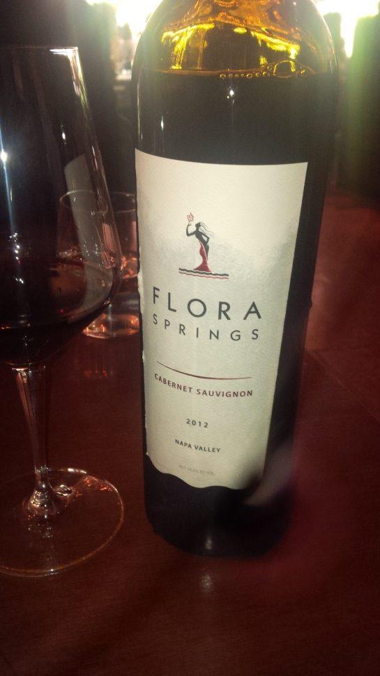 Flora Springs Cab Sauv 2012