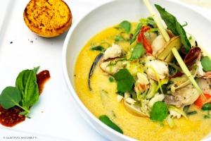 Thai Coconut Seafood Chowder