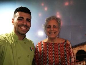 Lizette y el Chef Juan Alameda