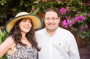 Juan Eduardo y Patricia Mojica
