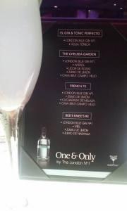 En Blue Martini con  London #1