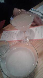 Trago La Esperanza. Vodka, Guanabana , St. Germain y limon.