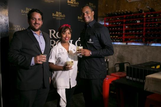 Mario Davila, Chef Maria Mercedes y Otto Flores