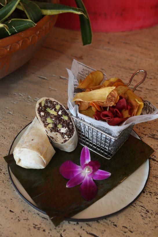 Wrap de Quinoa y Aguacate