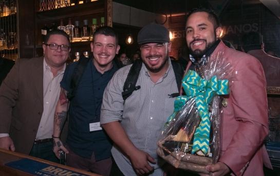 Ricardo Reyes, Francisco Santiago, Josue Echevarria y Ariel Rosario