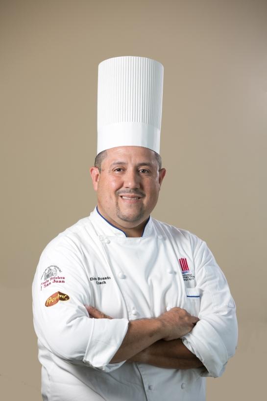 Chef Ejecutivo Elvin Rosado